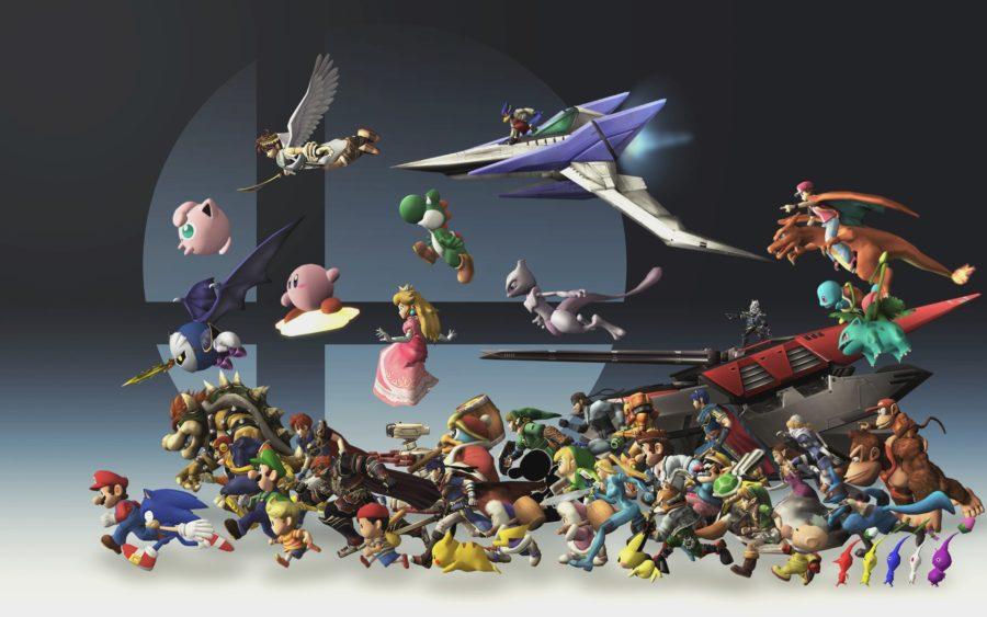 Super Smash Bros персонажи