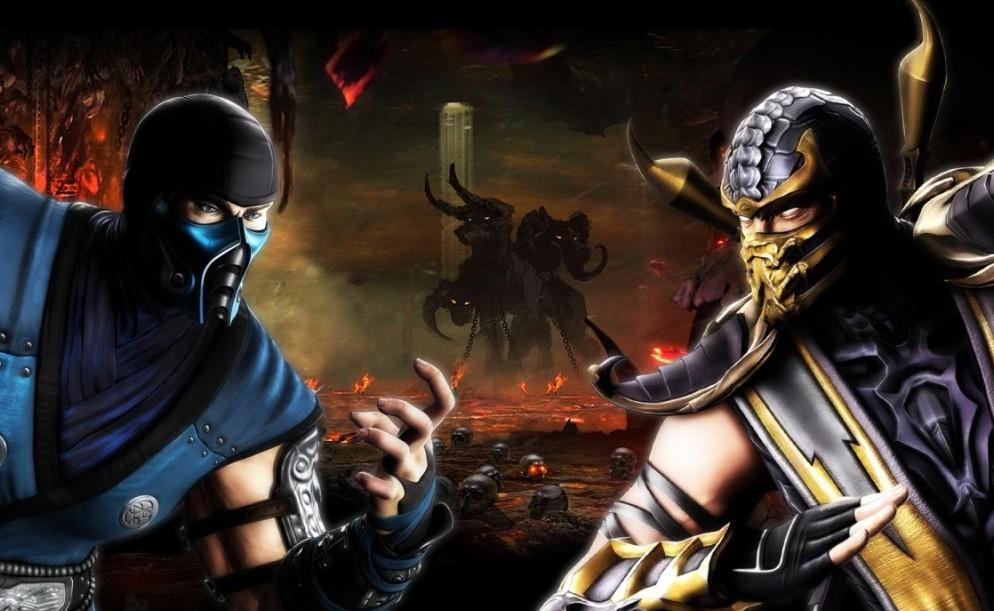 Scorpion и Sub-Zero персонажи