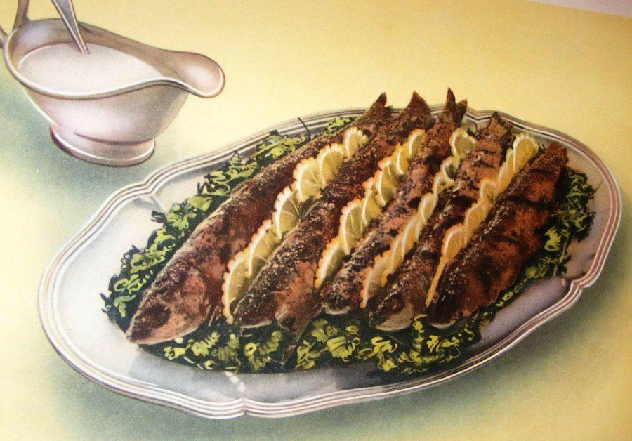 Рыба на советском столе