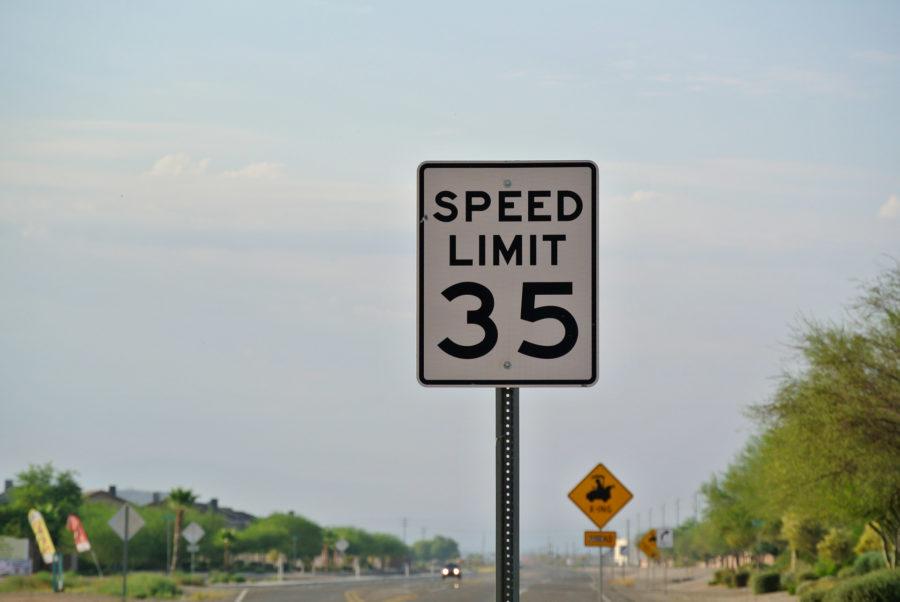 Знак 35 миль