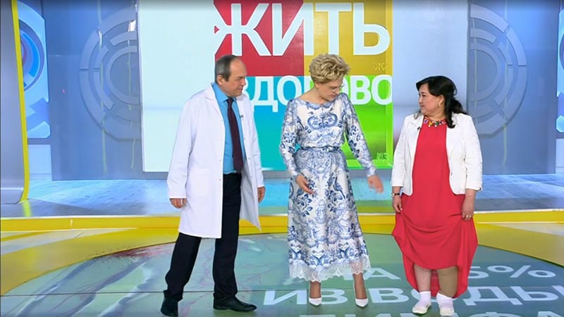 Елена стала несменной ведущей программы «Жить здорово» на «Первом канале»