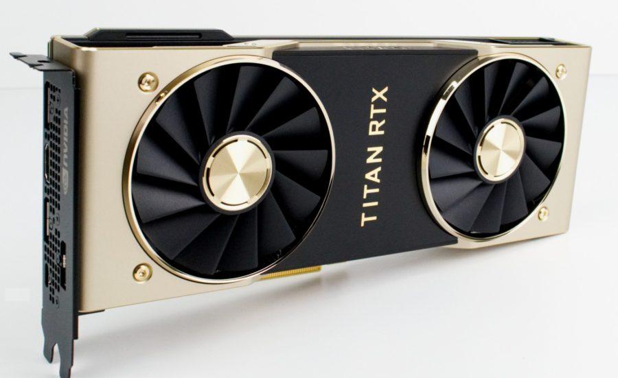 Titan RTX видеокарта