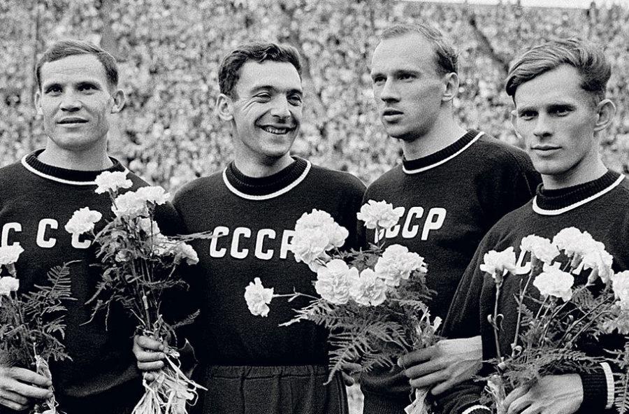 Спортсмены в СССР