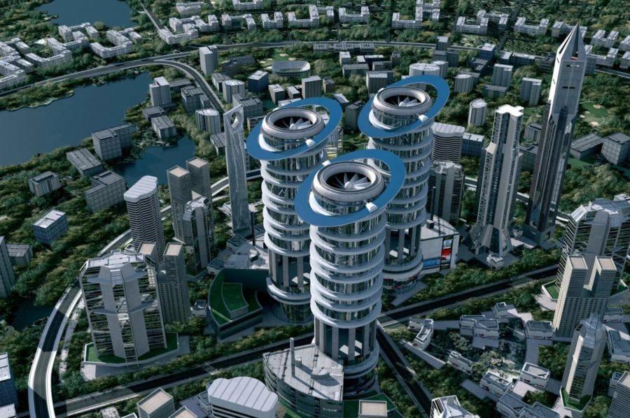 Модернизированный город