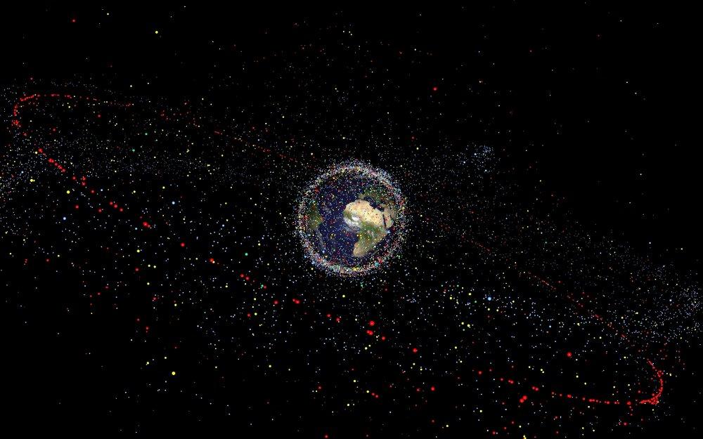 Мегасозвездия из спутников