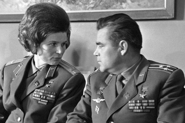 Терешкова и Николаев