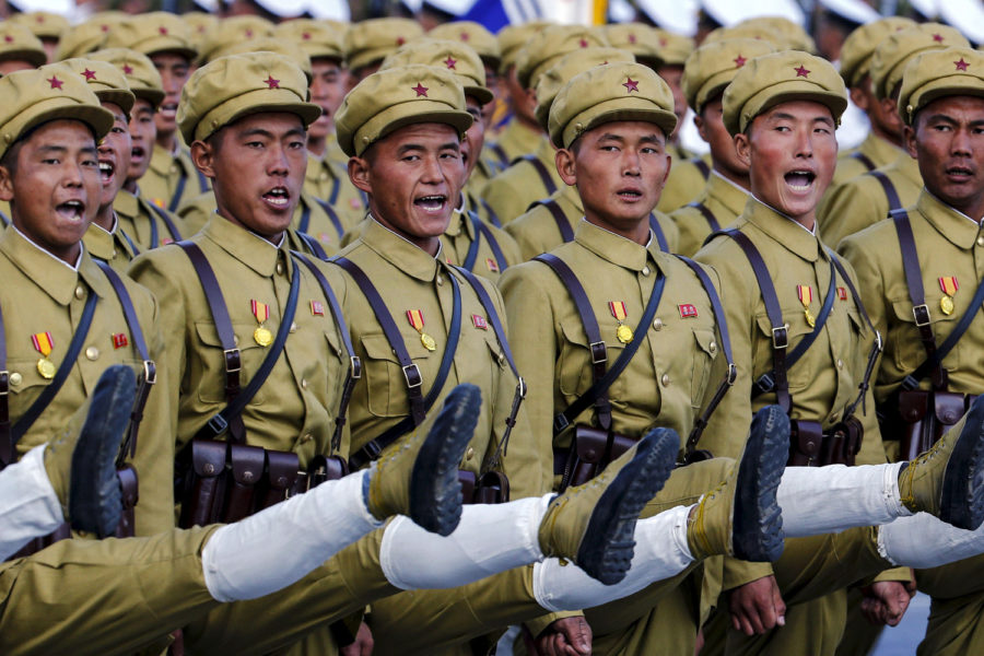Военные в Северной Корее