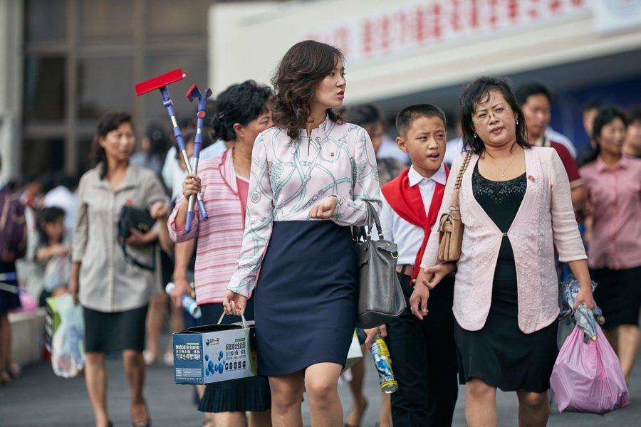 Люди в Северной Корее
