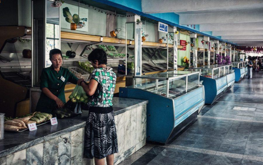 Магазин в Северной Корее