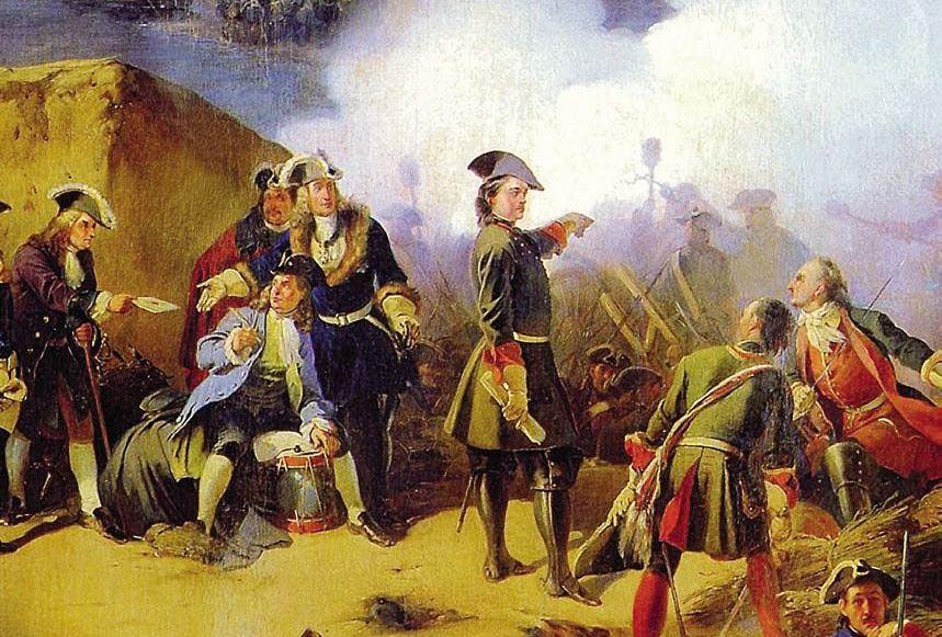 Армия при Петре Первом
