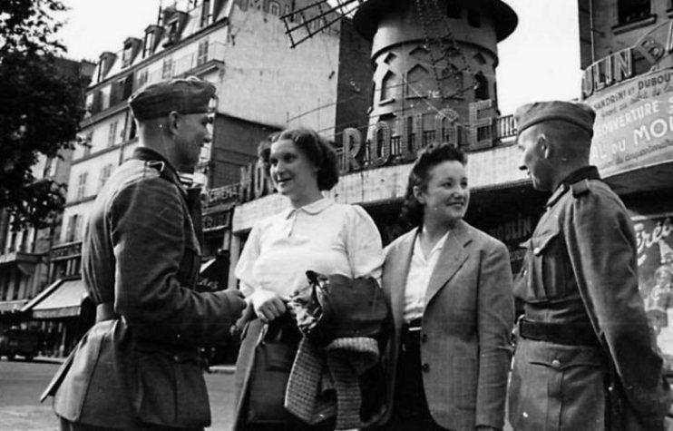 Француженки с немцами