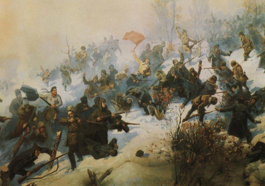 Победы над белогвардейцами
