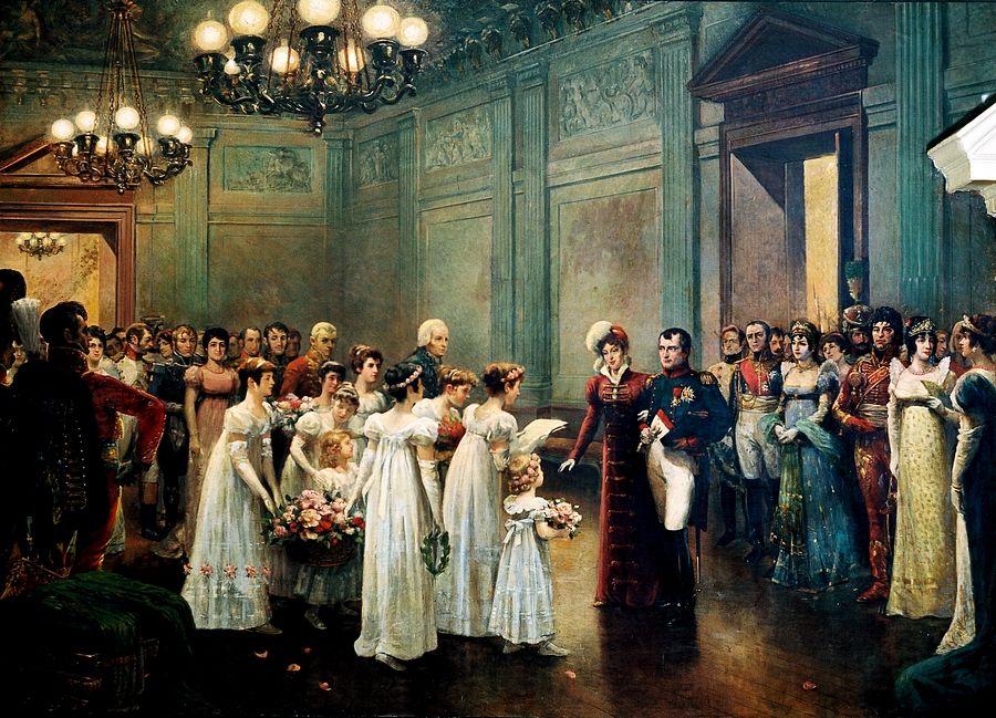 Бал в доме Наполеона