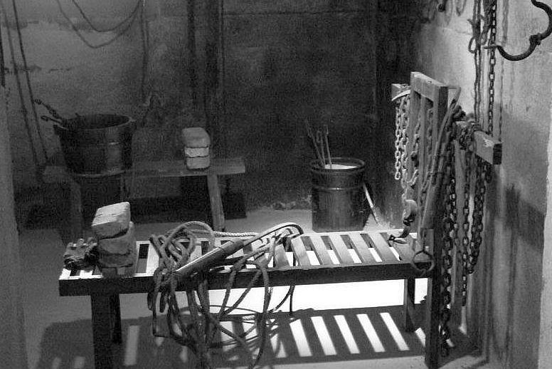 Комната гестапо для пыток