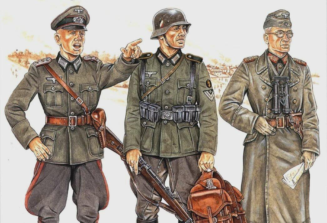 Военная форма немцев