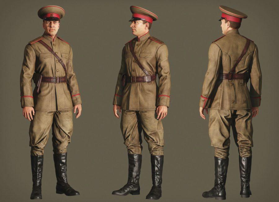 Форма советских солдат