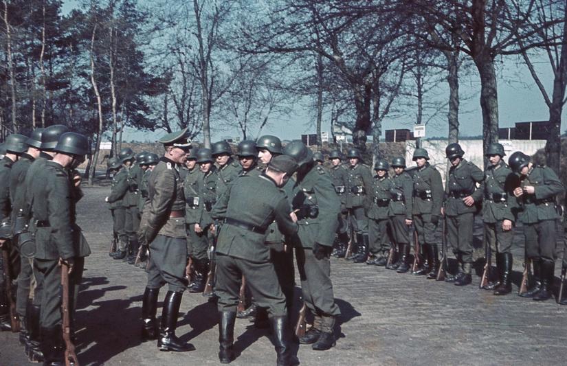 Советские люди помощники Вермахта