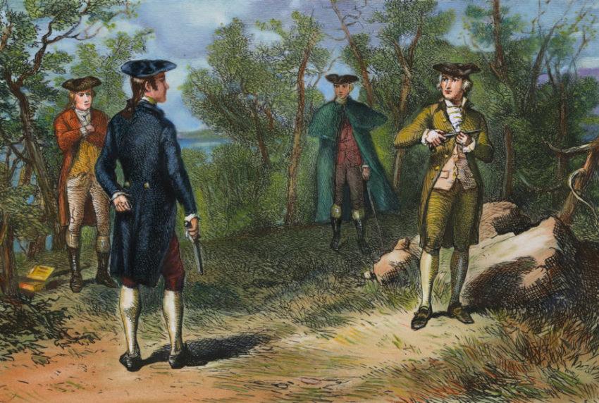 Дуэль в 19 веке