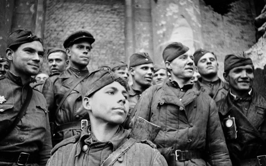 Солдаты советской армии