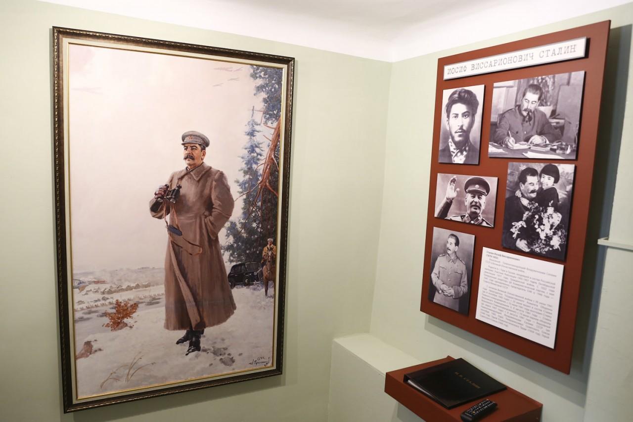 Поездка Сталина в Ржев
