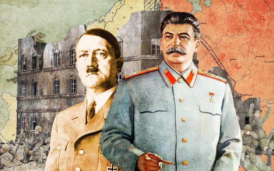 Гитлер и Сталин