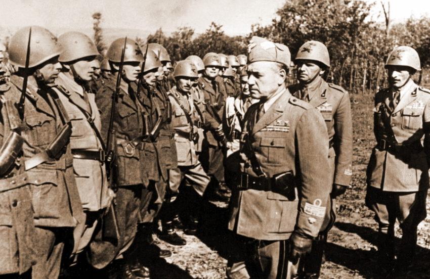 Италия в военное время