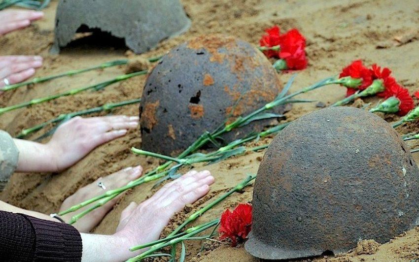 Могилы погибших солдат