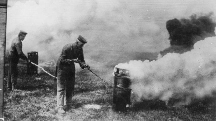 Химическое оружие в Первую мировую войну