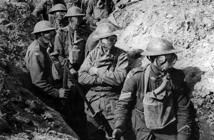 Солдаты в Первую мировую войну