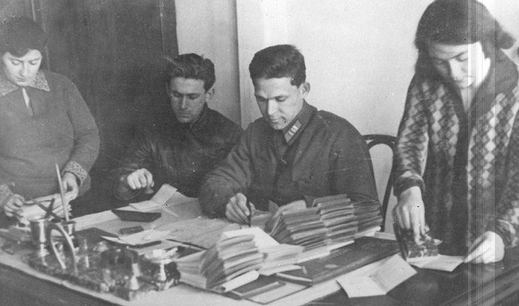 Паспортный стол в СССР