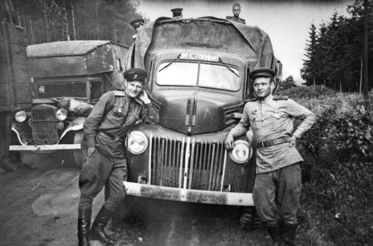 Водители в советской армии