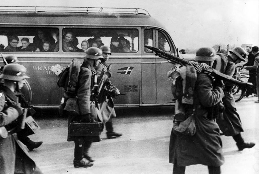 Дания на Первой мировой войне