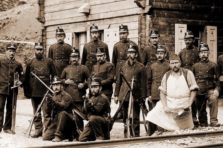 Швейцария на Первой мировой войне