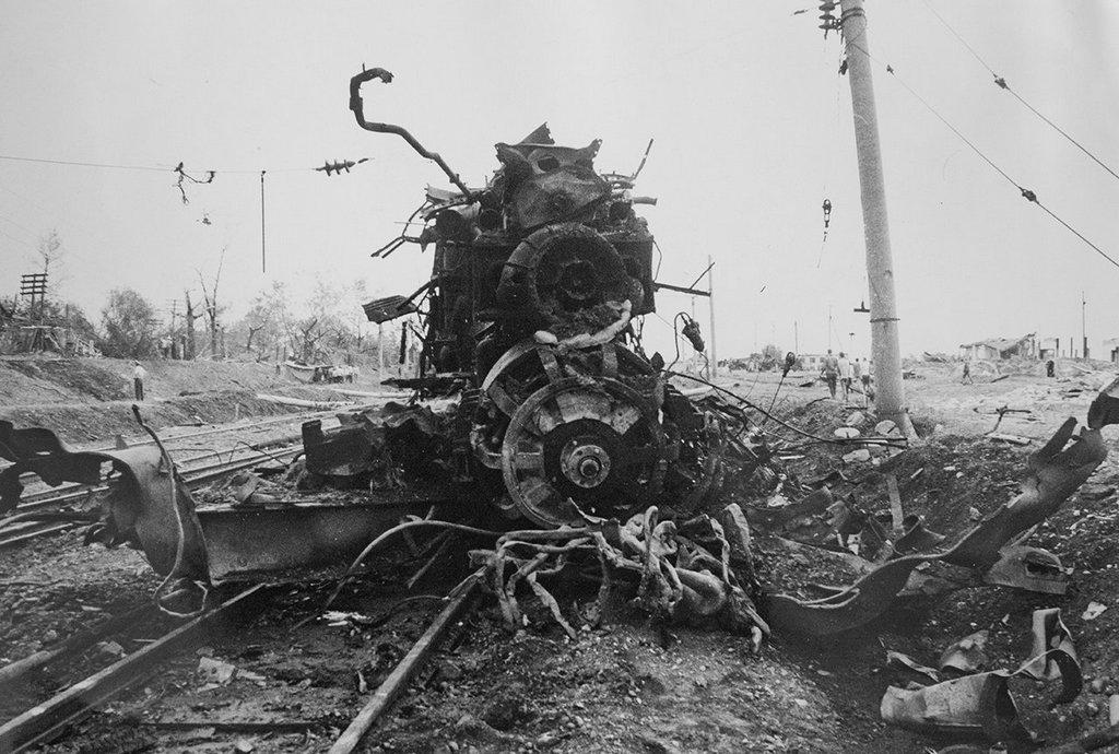 Взрыв поезда