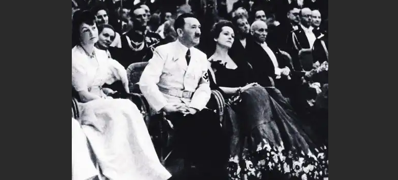 Ольга Чехова с Гитлером