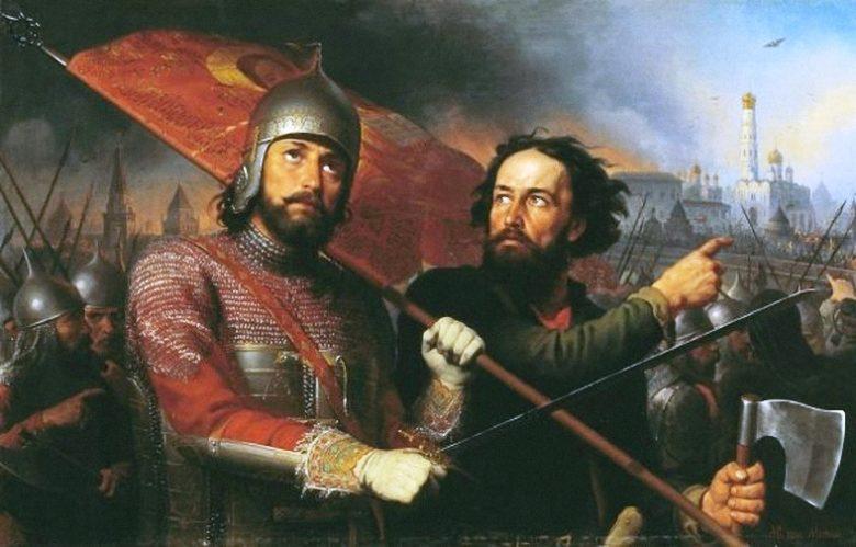 Князья Минин и Пожарский