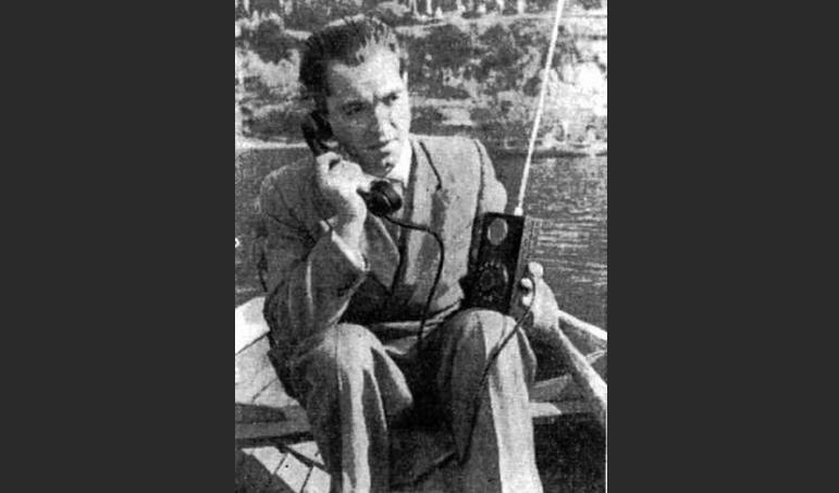 Первый мобильный телефон Леонида Куприяновича