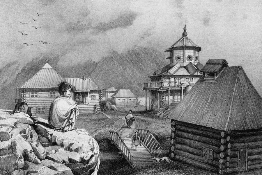 Поселение на Аляске