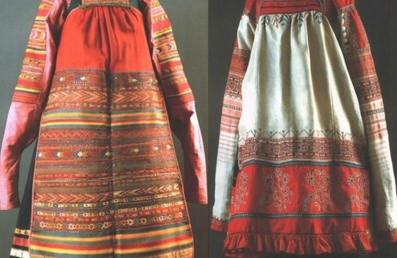 Одежда женщин на Руси