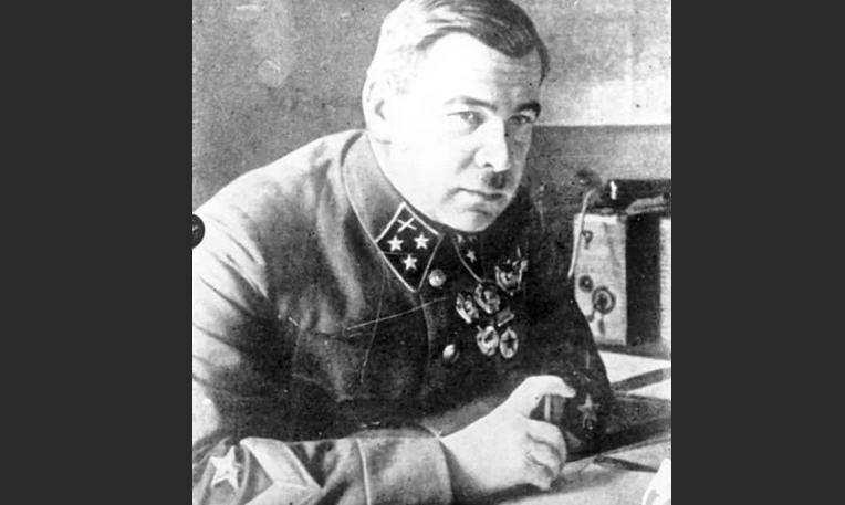 Белогвардейский офицер Леонид Говоров