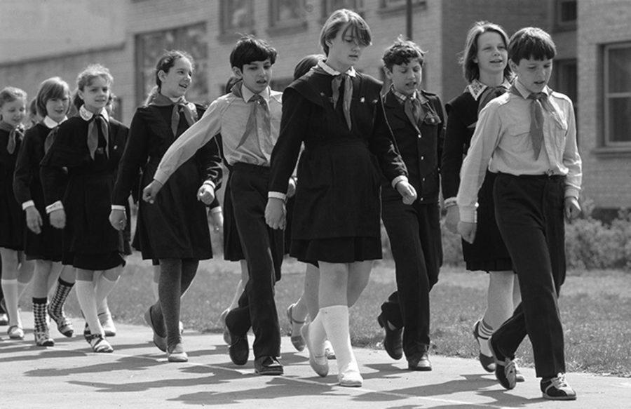 Дети в советской школе