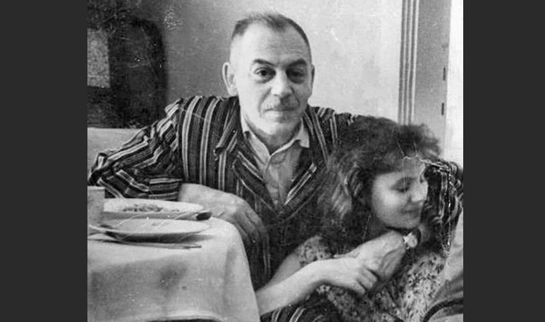 Василий Сталин с женой