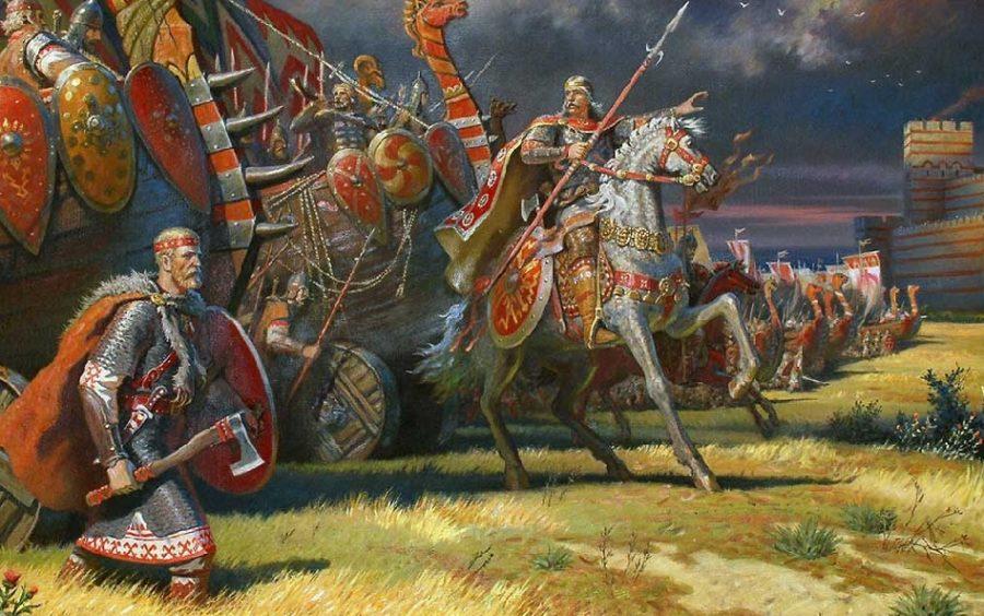 Воины с Киева