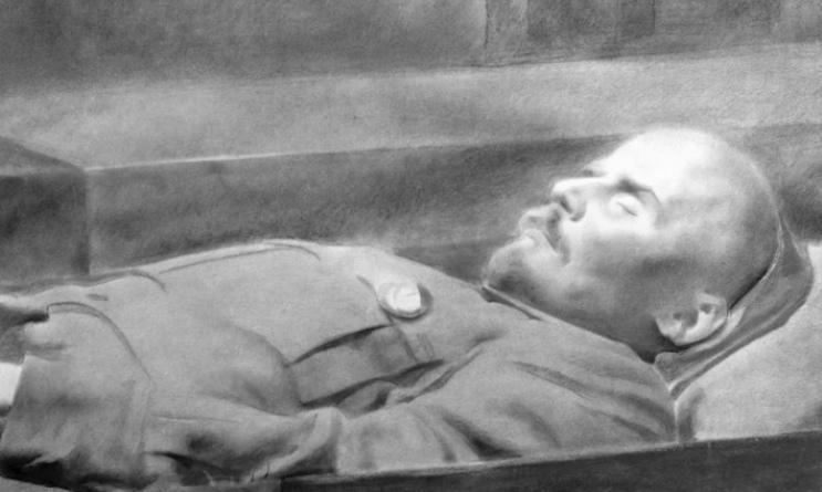 Тело Ульянова-Ленина