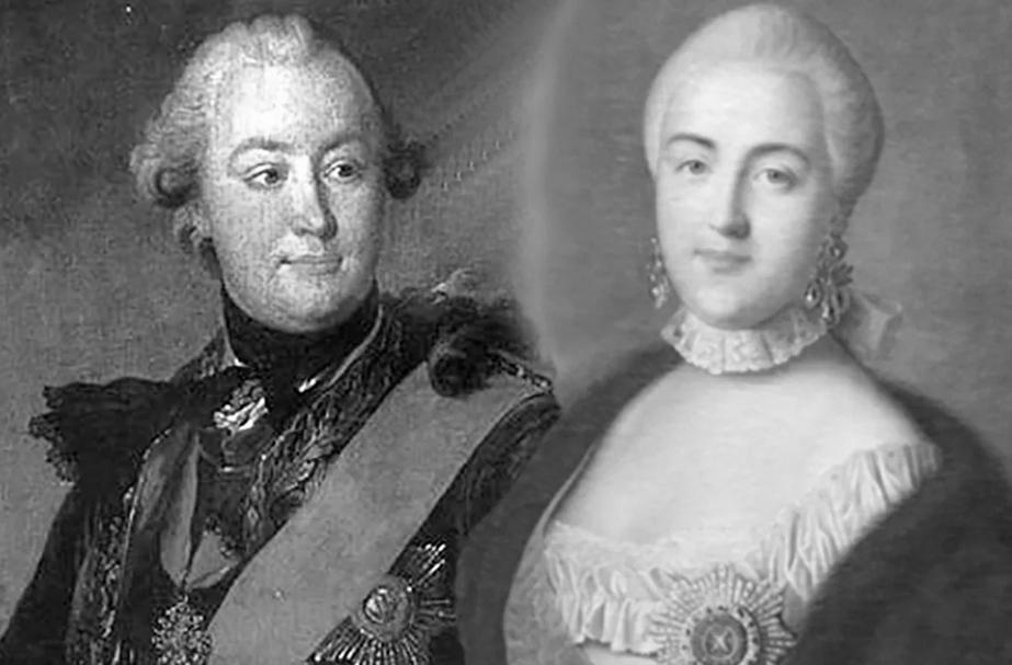 Екатерина Великая и Граф Орлов