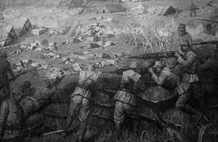 Штурм крепости Хутоу