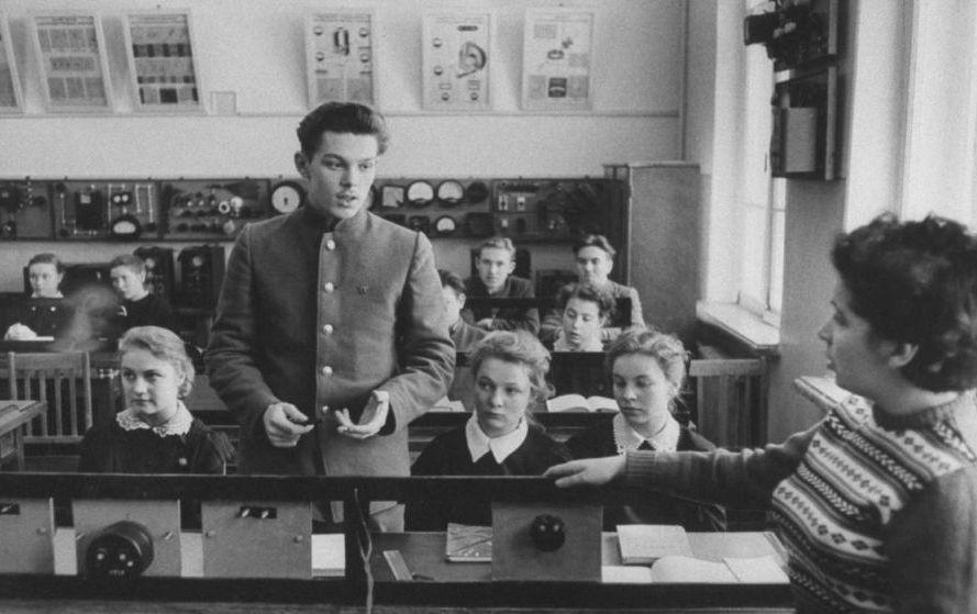 Советский школьник