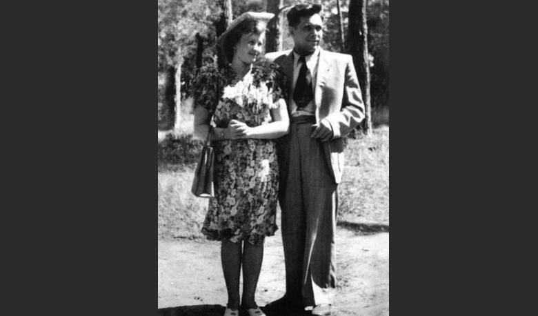 Светлана Щёлокова с мужем